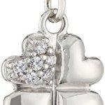 s.Oliver Damen-Charm 925 Sterling Silber Kleeblatt Durchmesser (Symbol) ca. 16 mm 385640 B005FP4INK