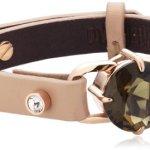Dyrberg/Kern Damen Armband Edelstahl Leder beige 335275 B00HEYA56Y
