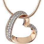 Esprit Damen Halskette Silber vergoldet rhodiniert Zirkonia ESNL91579C420 B00HEZ9QSQ