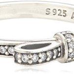 Pandora Damen-Ring 925 Sterling Silber Zirkonia weiß 190906CZ B00JDFLJBW