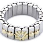 Nomination Damen-Ring Klein Mit Sonne Ring größe variabel 040201/028 B0050C8UW8