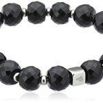 Jewels by Leonardo Leonardo Jewels Damen-Armband Schwarz Glance Darlins 013566 B005F2COXY
