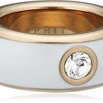 Esprit Jewels Damen-Ring Edelstahl Fancy white rose ESRG12194G1 B00ES7RLOO