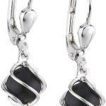 Amor Jewelry Damen-Ohrhänger 925 Sterling Silber 202787 B00EQ0G7RA