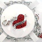 Guess Damen-Charmsarmband Metall Kunststoff UBS81001 B0044R5OEC