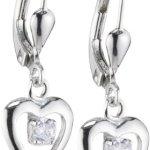 Amor Jewelry Kinder und Jugendliche-Ohrhänger 925 Sterling Silber 398794 B00EQ0G7M0