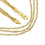 Kettenworld Damen Halskette 925 Sterling Silber 319865 B00KXW81YW