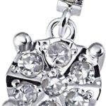 Goldmaid Damen-Anhänger 14 Karat 585 Weißgold Glamour 11 Diamanten 0,10 ct. Pa A6337WG B00DHB96YK