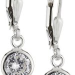 ZEEme Basic Damen-Ohrhänger 925/- Sterling Silber Zirkonia weiß 299230003 B0064WP1TS