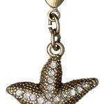Pilgrim Jewelry Damen-Anhänger Messing aus der Serie vergoldet,weiß 3.5 cm 401322009 B00CMO5JHQ