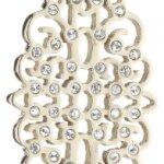 Dyrberg/Kern Damen-Halskett mit Anhänger JUSTINIA SG CRYSTAL 333673 B008YDYILW