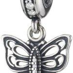 Pandora Damen-Charm 925 Sterling Silber Zirkonia weiß 791255CZ B00IWZFLAO