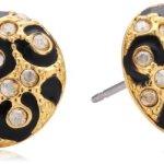 Guess Damen-Ohrstecker Wild At Heart Emaille Edelstahl vergoldet 1,3 cm UBE81327 B00E1RWEFW