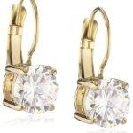 Dyrberg/Kern Damen-Ohrhänger Vergoldetes Metall Lindy sg crystal 334561 B00C1WVG1M