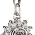 s.Oliver Damen-Charm 925 Sterling Silber Blume Zirkonia synth. Länge ca. 10 mm 419413 B008O2G9I8