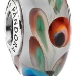 Pandora Sterling Silver Murano Glass Folklore Charm – 791614 – Moments Collection B00FAACVCA
