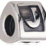 "Pandora Damen-Bead  Sterling-Silber 925 Buchstabenelement ""J"" KASI 79323-J B000WND7D2"