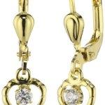 Amor Jewelry Kinder und Jugendliche-Ohrhänger 8 Karat 333 Gelbgold 297738 B00EQ0MGT8