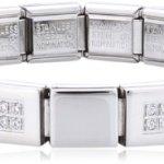 Nomination Damen Armband Edelstahl Ikons 239008/20 B00E674LQ2