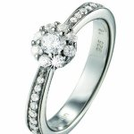 Pierre Cardin Damen-Ring Ephemere Sterling-Silber 925 PCRG90314A B005YVKP2I