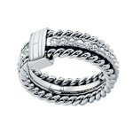 Tommy Hilfiger jewelry Damen-Ring Edelstahl 2700582 B00N447YTE