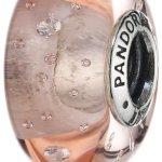 Pandora Damen-Charm 925 Sterling Silber Glas Zirkonia Moments weiß 791615CZ B00FPLLMIS