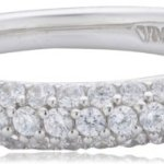 Viventy Damen-Ring Choose Me 925 Sterling Silber 61 Zirkonia Weiß 765041 B004XC6IH0