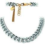 Dyrberg/Kern Damen-Halsband Versilbertes Metall silber 335173 B00HEYAF96