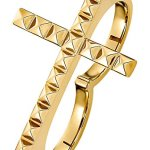 JETTE Magic Passion Damen-Ring JETTE Magic Passion Pyramid Metall (gold) B00OMD2KYK