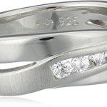 Fossil Damen-Ring 925 Sterling Silber Zirkonia weiß Gr.53 (16.9) JF12766040-6.5 B0017SJKV4