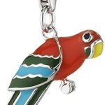 Zeeme Damen-Anhänger 925/- Sterling Silber Mit Buntem Lack Papagei 360241484 B0054NDAZU