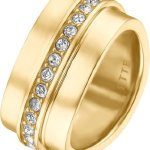 JETTE Magic Passion Damen-Ring Metall 30 Kristall (gold) B00K2TZ18A