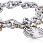 Dyrberg/Kern Damen Armband Versilbertes Metall 335574 B00HEYAI0W