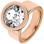 JETTE Magic Passion Damen-Ring JETTE Magic Innocence Metall 1 Kristall (rosé) B00P9Z25M2