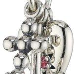Pandora Damen-Anhänger Treue Hoffen und Liebe mit Zirkonia 925 Sterling Silber 791120CZS B00B7HMRR4