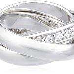 Joop! Damen-Ring Dreifacher mit Zirkonia weiÃY Gr.53 JPRG90003A530 B001P09V0E