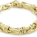 BOB C Damen-Armband 14 Karat 585 Gelbgold FA456645120 B008VOFOPS