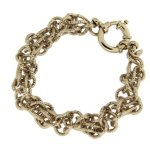 Kettenworld Damen Armband Bronze 22.0 cm 266136 B00GQP509O