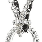 Pilgrim Damen-Halskette charms versilbert & metallmix 90 cm 40114-9002 B0060MSBGM