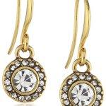 Pilgrim Jewelry Damen-Ohrringe aus der Serie Classic vergoldet kristall 2.3 601232073 B008R6Q6FW