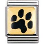 Nomination Composable Big TIERE – LAND (Abdruck Hundepfote) ( 032210-35) B003HT0CG8