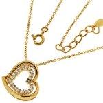 Kettenworld Damen Halskette 925 Sterling Silber Zirkonia 343673 B00L344EUO