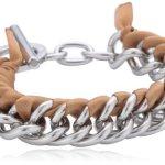 Dyrberg/Kern Damen Armband Versilbertes Metall beige 335181 B00HEYAGQI