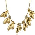 Pilgrim Jewelry Damen Halskette Messing Kristall Clarity Vergoldet 38.0 cm weiß 161342021 B00G2905OE
