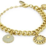 Pilgrim Jewelry Damen-Armband aus der Serie Contrasts vergoldet mint 16.5 cm 181233402 B008RTV55K
