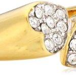 Guess Damen-Ring Metall Zirkonia weiß UBR11405 B00L20JOCW