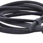 Viventy Damen-Armband Leder 762505, Schwarz B0052XARXU