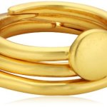 Pilgrim Jewelry Damen Ring Messing Stillness 0.6 cm 151422104 B00JWR8V4E