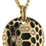 Guess Damen Halskette Vergoldetes Metall Emaille gold UBN91323 B00GSHIKV0
