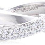 Viventy Damen-Ring 925 Sterling Silber 37 Zirkonia weiss 762351 B0053B2FCW